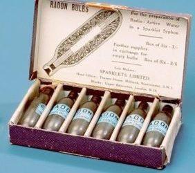Sparklets Spa-Radium Radon Bulbs