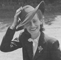 A photograph of Annemarie Lobbenberg