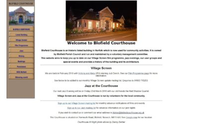 Blofield Courthouse Web Project